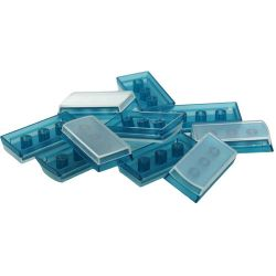 X-keys XK-A-002BL-R Tall Keycaps (Blue, Pack of 10) XK-A-002BL-R