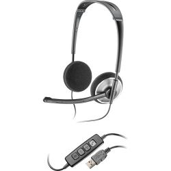 Plantronics Audio 478 Folding USB Headset 81962-21 B&H Photo