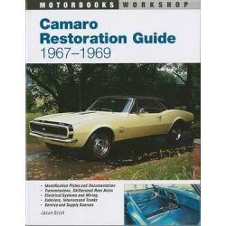 Camaro Restoration Guide 1967-69, Motorbooks Workshop by Jason Scott, 9780760301609.