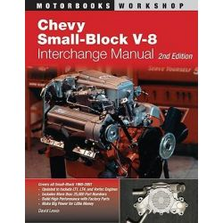Chevy Small-block V8 Interchange Manual, Motorbooks Workshop by Pierre Lafontaine, 9780760331668.