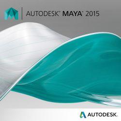 Autodesk Maya 2015 3D Animation & Modeling 657G1-WWR11C-1001