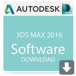 Autodesk 3ds Max 2016 with Softimage 978H1-WWR111-1001-VC B&H