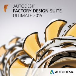 Autodesk Factory Design Suite Ultimate 2015 760G1-WWR111-1001
