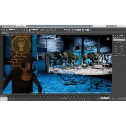 Autodesk 3ds Max 2014 Design Single User 495F1-WWR111-1001 B&H