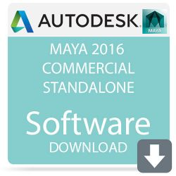 Autodesk Maya 2016 Commercial Standalone 657H1-WWR11C-1001-VC