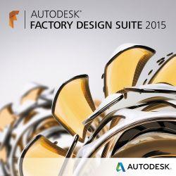 Autodesk Factory Design Suite Standard 2015 789G1-WWR111-1001