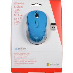 Microsoft Wireless Mobile Mouse 3500 (Cyan Blue) GMF-00274 B&H