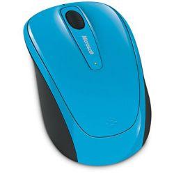 Microsoft Wireless Mobile Mouse 3500 (Cyan Blue) GMF-00273 B&H