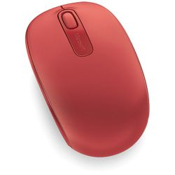 Microsoft Wireless Mouse 1850 (Flame Red) U7Z-00031 B&H Photo