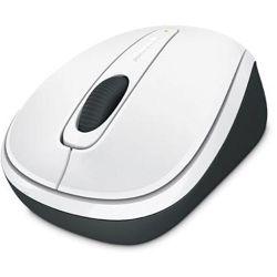 Microsoft Wireless Mobile Mouse 3500 (White) GMF00176 B&H Photo