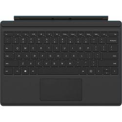 Microsoft Surface Pro 4 Type Cover (Black) QC7-00001 B&H Photo
