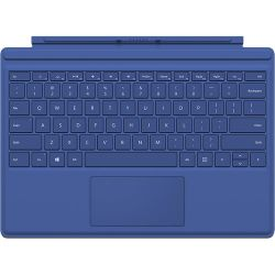 Microsoft Surface Pro 4 Type Cover (Blue) QC7-00003 B&H Photo