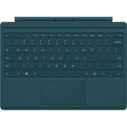 Microsoft Surface Pro 4 Type Cover (Teal) QC7-00006 B&H Photo