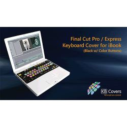KB Covers Apple Final Cut Pro/Express Keyboard Cover FC-E-BC B&H