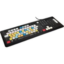 Editors Keys Dedicated Backlit PC Keyboard EK-KB-PHOTOCC-BLW-US