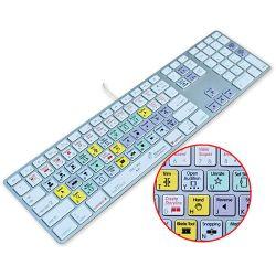 KB Covers Keyboard for Final Cut Pro X KBKYBD-FCPX-AK-W B&H