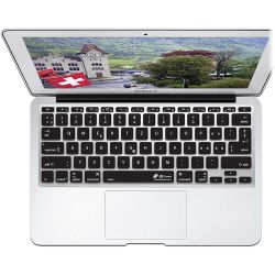 KB Covers Swiss Keyboard Cover for MacBook Air SWISS-M11-CB-2