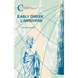 Early Greek Lawgivers, Classical World by John Lewis, 9781853996979.