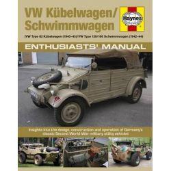Kubelwagen/Schwimmwagen Manual, VW Type 82 Kubelwagen/VW Type 128/166 Swimmwagen by Chris McNab, 9780857337795.