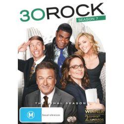 30 Rock on DVD.