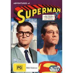Adventures of Superman on DVD.