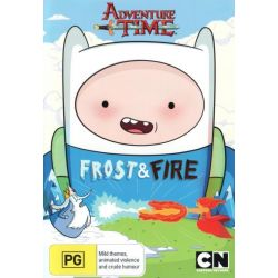 Adventure Time (Collection 9) on DVD.