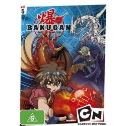 Bakugan on DVD.
