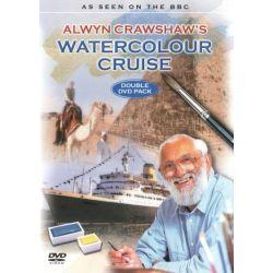 Alwyn Crawshaw's Watercolour Cruise (Painting) on DVD.