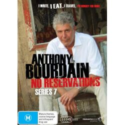 Anthony Bourdain No Reservations on DVD.