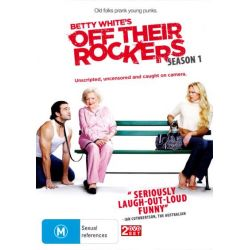 Betty Whites Off Their Rockers (2 Discs) on DVD.