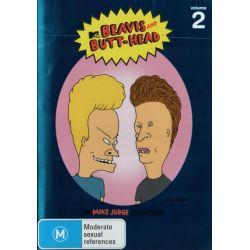 Beavis and Butt-Head on DVD.