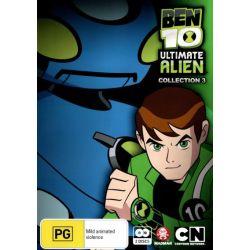 Ben 10 Ultimate Alien on DVD.
