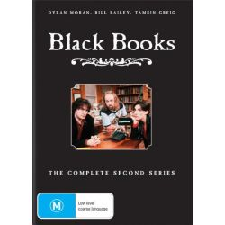 Black Books on DVD.