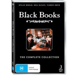 Black Books - Collection on DVD.