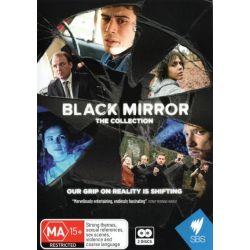 Black Mirror on DVD.