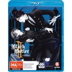 Black Butler Ii (Kuroshitsuji Ii) Season 2 + Ova Collection on DVD.