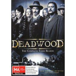 Deadwood on DVD.