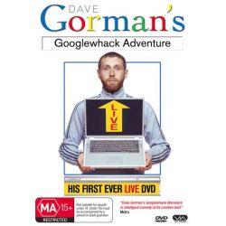 Dave Gorman's Googlewhack Adventure on DVD.