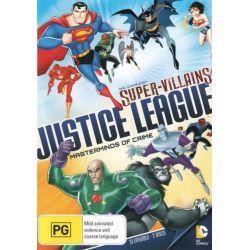 DC Comics - Super Villains Justice League on DVD.