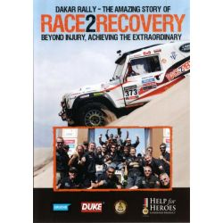 Dakar Rally - the Amazing Story of Race 2 Recovery Beyond Injury, Achieving the Extraordinary on DVD.