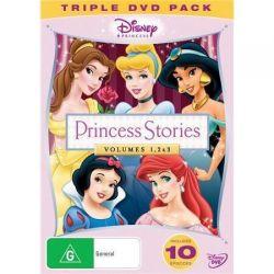 Disney Princess Stories on DVD.