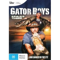 Gator Boys on DVD.