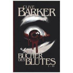 Bücher: Die Bücher des Blutes I - III  von Clive Barker