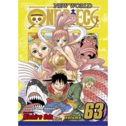 One Piece, 63 by Eiichiro Oda, 9781421543079.