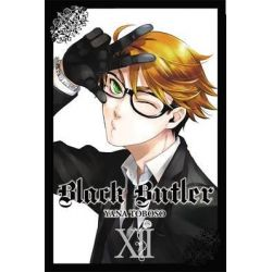 Black Butler, Book 12 by Yana Toboso, 9780316225342.