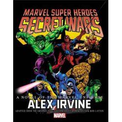 Secret Wars Prose Novel by Marvel Comics, 9780785191001.