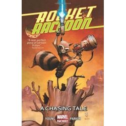 A Chasing Tale, Rocket Raccon : Volume 1 by Skottie Young, 9780785190455.