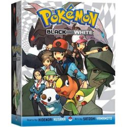 Pokemon: Volumes 1-8, Black and White by Hidenori Kusaka, 9781421550053.