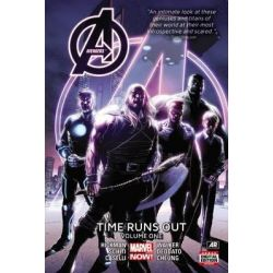 Avengers, Time Runs Out : Volume 1 by Jonathan Hickman, 9780785193418.