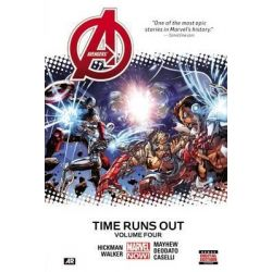Avengers, Time Runs Out : Volume 4 by Jonathan Hickman, 9780785192244.
